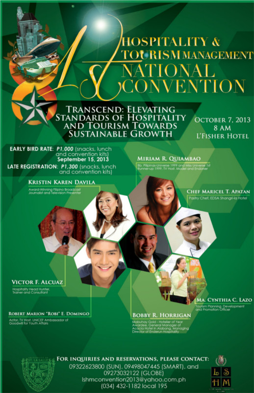 1st National Hospitality & Tourism Convention 2013